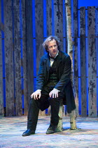 Geoffrey Streatfeild (Platonov) in WILD HONEY by Michael Frayn opening at the Hampstead Theatre, London NW3 on 08/12/2016 based on Chekhov's 'Play Without a Name'  design: Rob Howell lighting: Peter M...