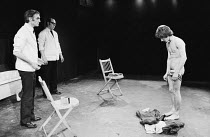 CLAW by Howard Barker costumes: Susan Thompson lighting: Jenny Cane director: Chris Parr ~~right: Billy Hamon (Noel)~Open Space Theatre, London NW1  01/1975                        ~(c) Donald Cooper/P...
