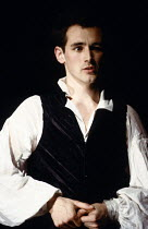 BLOODY POETRY by Howard Brenton design: Kenny Miller lighting: Rick Fisher director: Max Stafford-Clark Mark Rylance (Percy Bysshe Shelley)Royal Court Theatre, London SW1  12/04/1988         Donald Co...