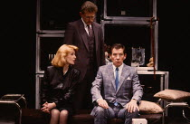 HENCEFORWARD by Alan Ayckbourn design: Roger Glossop lighting: Mick Hughes director: Alan Ayckbourn l-r: Jane Asher (Corinna), Michael Simkins (Mervyn), Ian McKellen (Jerome) Vaudeville Theatre, Londo...