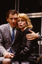 HENCEFORWARD by Alan Ayckbourn design: Roger Glossop lighting: Mick Hughes director: Alan Ayckbourn Ian McKellen (Jerome), Jane Asher (Corinna)Vaudeville Theatre, London WC2  16/11/1988...