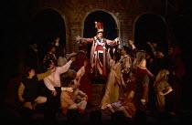 NICHOLAS NICKLEBY adapted by David Edgar from the novel by Charles Dickens design: John Napier & Dermot Hayes lighting: David Hersey directors: Trevor Nunn & John Caird The Crummles Theatre Company pr...