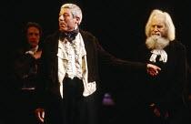 NICHOLAS NICKLEBY adapted by David Edgar from the novel by Charles Dickens design: John Napier & Dermot Hayes lighting: David Hersey directors: Trevor Nunn & John Caird l-r: (rear) Edward Petherbridge...