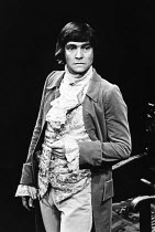 SHE STOOPS TO CONQUER   by Oliver Goldsmith   design: Johanna Bryant   director: Braham Murray   Tom Courtenay (Young Marlow)  a 69 Theatre Company production / Garrick Theatre, London WC2  07/05/1...