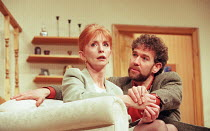 THINGS WE DO FOR LOVE written & directed by Alan Ayckbourn design: Roger Glossop lighting: Mick Hughes Jane Asher (Barbara), Steven Pacey (Hamish) Gielgud Theatre, London W1  03/03/1998...