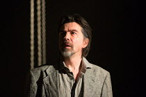 James Clyde (Chin) in IN THE DEPTHS OF DEAD LOVE by Howard Barker opening at the Coronet Print Room, London W11 on 19/01/2017 design: Justin Nardella lighting: Adrian Sandvaer director: Gerrard McArth...