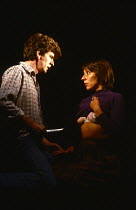 FEN by Caryl Churchill design: Annie Smart lighting: Tom Donnellan director: Les Waters   Bernard Strother (Wilson/Frank/Mr Tewson/Geoffrey), Jennie Stoller (Val/Woman Working In the Fields) a Joint S...