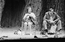 OBJECTIONS TO SEX AND VIOLENCE by Caryl Churchill design: David Short lighting: Jack Raby director: John Tydeman Rose Hill (Madge), Ivor Roberts (Arthur) Royal Court Theatre, London SW1  02/01/1975...