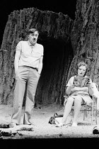 OBJECTIONS TO SEX AND VIOLENCE by Caryl Churchill design: David Short lighting: Jack Raby director: John Tydeman Ivor Roberts (Arthur), Rose Hill (Madge)Royal Court Theatre, London SW1  02/01/1975...