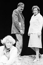 OBJECTIONS TO SEX AND VIOLENCE by Caryl Churchill design: David Short lighting: Jack Raby director: John Tydeman l-r: Sylvia Coleridge (Miss Forbes), Ivor Roberts (Arthur), Rose Hill (Madge)Royal Cour...