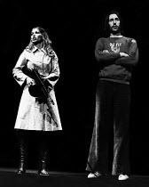 ILLUMINATUS! directed by Ken Campbell & Chris Langham   Prunella Gee (Mavis), Chris Langham (George Dorn)  Science Fiction Theatre of Liverpool Cottesloe Theatre / National Theatre, London SE1 03/1977...
