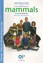 MAMMALS by Amelia Bullmore - director: Anna Mackmin,Hammersby family looking for nits - l-r: Jane Hazlegrove (Jess), Helena Lymbery (Betty), Niamh Cusack (Jane),Daniel Ryan (Kev),Oxford Playhouse 24/0...
