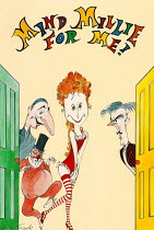 MIND MILLIE FOR ME adapted by Nicki Frei & Peter Hall after Feydeau design: Gerald Scarfe lighting: Joe Atkins director: Peter Hall Theatre Royal, Haymarket,London SW1 1996   programme coverphoto set...