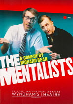 THE MENTALISTS   by Richard Bean   design: Richard Kent   lighting: David Plater   director: Abbey Wright  Wyndham's Theatre, London WC2  13/07/2015     programme coverphoto set: digital, uploaded...