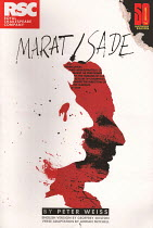 MARAT/SADE by Peter Weiss English version by Geoffrey Skelton design: Garance Marneur lighting: Chahine Yavroyan director: Anthony Neilson Royal Shakespeare Company (RSC) / Royal Shakespeare Theatre (...