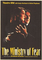 THE MINISTRY OF FEAR based on the novel by Graham Greene adapted by Daniel Jamieson design: Trina Bramman lighting: Marcus Bartlett director: Nikki Sved  Theatre Alibi / Exeter Northcott / Oxford Play...