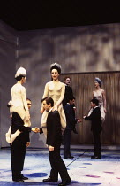 THE SKRIKER by Caryl Churchill design: Annie Smart lighting: Christopher Toulmin movement: Ian Spink director: Les Waters ~~company~Cottesloe Theatre / National Theatre (NT), London SE1  27/01/1994...