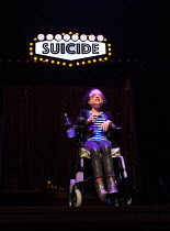 ASSISTED SUICIDE The Musical by Liz Carr and the company  composer: Ian Hill director : Mark Whitelaw   Liz Carr  an In Company Collective / We Are Unlimited production / Royal Festival Hall (RFH), So...