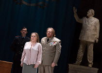 Sophie Bevan (Hermione), Iain Paterson (Leontes) in THE WINTER'S TALE opening at English National Opera (ENO), London Coliseum, London WC2 on 27/02/2017 after Shakespeare's play music, libretto & cond...