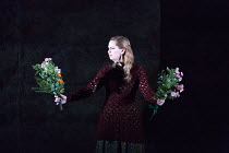 final scene: Samantha Price (Perdita) in THE WINTER'S TALE opening at English National Opera (ENO), London Coliseum, London WC2 on 27/02/2017 after Shakespeare's play music, libretto & conductor: Ryan...