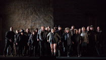 people of Bohemia in THE WINTER'S TALE opening at English National Opera (ENO), London Coliseum, London WC2 on 27/02/2017   after Shakespeare's play music, libretto & conductor: Ryan Wigglesworth set...