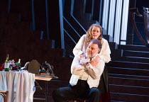 Bryn Terfel (Hans Sachs), Rachel Willis-Sorensen (Eva) in DIE MEISTERSINGER VON NURNBERG (The Mastersingers) by Wagner opening at The Royal Opera, Covent Garden, London WC2 on 11/03/2017 conductor: An...