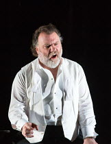 Bryn Terfel (Hans Sachs) in DIE MEISTERSINGER VON NURNBERG (The Mastersingers) by Wagner opening at The Royal Opera, Covent Garden, London WC2 on 11/03/2017 conductor: Antonio Pappano   set design: Mi...