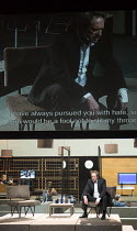 ROMAN TRAGEDIES - CORIOLANUS adapted from Shakespeare set design and lighting: Jan Versweyveld costumes: Lies van Assche video: Tal Yarden director: Ivo van Hove Gijs Scholten van Aschat (Coriolanus)a...
