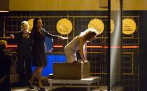 ROMAN TRAGEDIES - ANTONY AND CLEOPATRA adapted from Shakespeare set design and lighting: Jan Versweyveld costumes: Lies van Assche video: Tal Yarden director: Ivo van Hove energetic dancing - l-r: Fri...