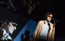 Christian Camargo in THE KID STAYS IN THE PICTURE opening at the Jerwood Theatre Downstairs, Royal Court Theatre, London SW1  on 23/03/2017   in association with Complicite / based on the life of Robe...