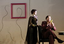 Sarah Tynan (Partenope), Matthew Durkan (Ormonte) in PARTENOPE by Handel opening at English National Opera (ENO), London Coliseum WC2 on 15/03/2017   libretto: Silvio Stampiglia   English translation:...