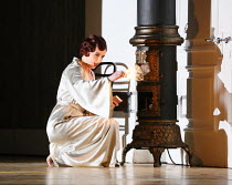 Sarah Tynan (Partenope) in PARTENOPE by Handel opening at English National Opera (ENO), London Coliseum WC2 on 15/03/2017   libretto: Silvio Stampiglia   English translation: Amanda Holden   conductor...