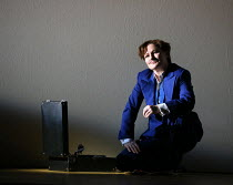 Patricia Bardon (Arsace) in PARTENOPE by Handel opening at English National Opera (ENO), London Coliseum WC2 on 15/03/2017   libretto: Silvio Stampiglia   English translation: Amanda Holden   conducto...
