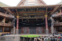ROMEO AND JULIET by Shakespeare design: Soutra Gilmour lighting: Charles Balfour choreographer: Tim Claydon director: Daniel Kramer   full stage, 'shark' missiles, extra lighting equipment in the Hea...