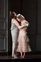 l-r: Sarah Connolly (Gertrude), Barbara Hannigan (Ophelia) in HAMLET opening at Glyndebourne Festival Opera, East Sussex,England on 11/06/2017    music: Brett Dean libretto: Matthew Jocelyn after Shak...