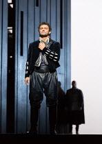 l-r: Jonas Kaufmann (Otello), Marco Vratogna (Iago) in OTELLO by Verdi opening at The Royal Opera, Covent Garden, London WC2 on 21/06/2017 libretto: Arrigo Boito after Shakespeare's OTHELLO conductor:...