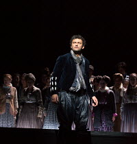 Jonas Kaufmann (Otello) in OTELLO by Verdi opening at The Royal Opera, Covent Garden, London WC2 on 21/06/2017 libretto: Arrigo Boito after Shakespeare's OTHELLO conductor: Antonio Pappano set design:...