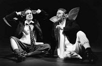 A MIDSUMMER NIGHT'S DREAM by Shakespeare  design: Sue Blane  lighting: Alan Burrett  director: John Caird   l-r: Richard McCabe (Puck), John Carlisle (Oberon)  LO-RES FOR SELECTION PURPOSES ONLY Royal...