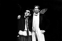 A MIDSUMMER NIGHT'S DREAM by Shakespeare  design: Sue Blane  lighting: Alan Burrett  director: John Caird   l-r: Richard McCabe (Puck), John Carlisle (Oberon)   LO-RES FOR SELECTION PURPOSES ONLY Roya...