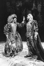A MIDSUMMER NIGHT'S DREAM by Shakespeare  set design: Bob Crowley  costumes: Deirdre Clancy  lighting: William Bundy  director: Bill Bryden   Susan Fleetwood (Titania), Paul Scofield (Oberon) LO-RES F...