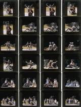 A MIDSUMMER NIGHT'S DREAM  by Shakespeare  design: Tim Goodchild  director: Christopher Biggins   Julie Dawn Cole (Hippolyta/Titania), Peter Woodward (Theseus/Oberon), Berwick Kaler (Bottom) Open Ai...
