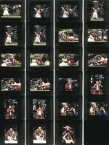 A MIDSUMMER NIGHT'S DREAM  by Shakespeare  design: Paul Farsnsworth  director: Ian Talbot   Louise Gold (Titania), Bill Homewood (Oberon), Roy Hudd (Bottom) Open Air Theatre (OAT), Regent's Park, Lo...