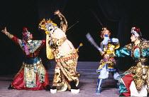 MACBETH by Shakespeare 'Kunju Macbeth'Shanghai Kunju Theatre Company / London Palladium 10/1987(c) Donald Cooper/Photostage  photos@photostage.co.uk   ref/CT-532-01