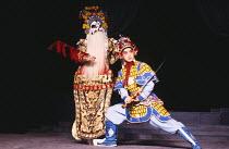 MACBETH by Shakespeare 'Kunju Macbeth'Shanghai Kunju Theatre Company / London Palladium 10/1987(c) Donald Cooper/Photostage  photos@photostage.co.uk   ref/CT-532-03