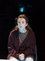 Olivia Colman (Jenny Dent) in MOSQUITOES by Lucy Kirkwood opening at the Dorfman Theatre, National Theatre (NT), London SE1 on 25/07/2017 ~~design: Katrina Lindsay  lighting: Paule Constable  director...