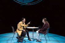 l-r: Olivia Williams (Alice Mabey), Olivia Colman (Jenny Dent) in MOSQUITOES by Lucy Kirkwood opening at the Dorfman Theatre, National Theatre (NT), London SE1 on 25/07/2017 ~~design: Katrina Lindsay...