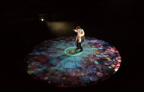 Paul Hilton (The Boson) in MOSQUITOES by Lucy Kirkwood opening at the Dorfman Theatre, National Theatre (NT), London SE1 on 25/07/2017 ~~design: Katrina Lindsay  lighting: Paule Constable  director: R...