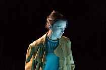 Olivia Williams (Alice Mabey) in MOSQUITOES by Lucy Kirkwood opening at the Dorfman Theatre, National Theatre (NT), London SE1 on 25/07/2017 ~~design: Katrina Lindsay  lighting: Paule Constable  direc...