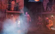 ghostly presence on the battlefield: Bradley Travis (Siegfried Sassoon) in the world premiere of Roxanna Panufnik's opera SILVER BIRCH opening at Garsington Opera at Wormsley, Oxford, England on 28/07...