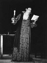 MACBETH  by Shakespeare   set design: Chris Dyer  costumes: Poppy Mitchell  lighting: Chris Parry / Howard Eaton   director: Howard Davies  Sara Kestelman (Lady Macbeth)  **Lo-res uncorrected and unre...